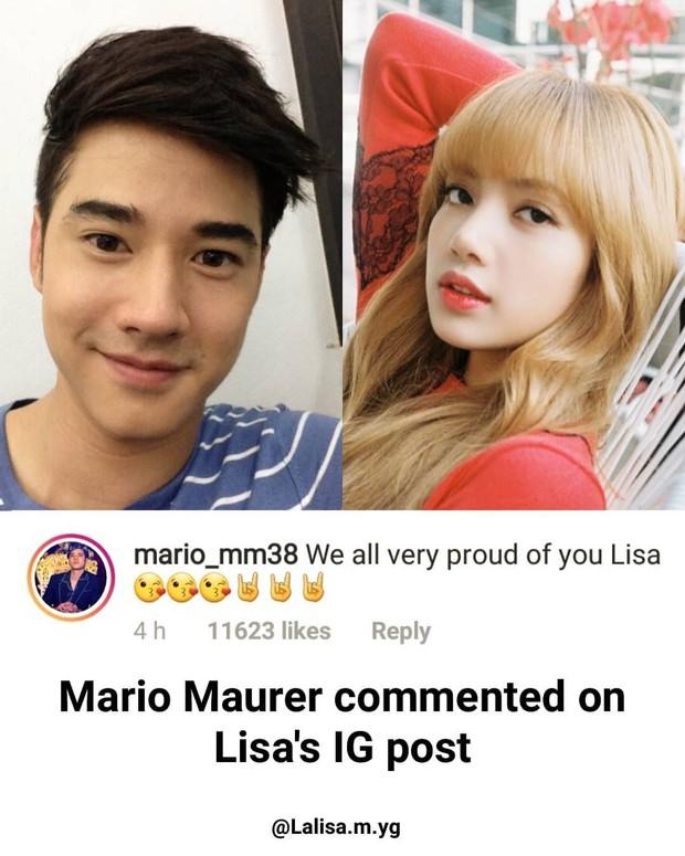 Đẳng cấp em gái quốc tế Lisa (Black Pink): Bị miệt thị, cô được tài tử Thái Mario Maurer và cả sao Hollywood bênh vực - Ảnh 2.