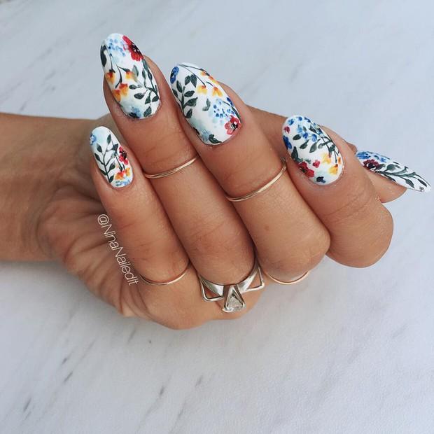 Loạt móng tay nghệ thuật kiểu Hàm Hương khiến cả trai thẳng cũng muốn đi làm nail - Ảnh 9.