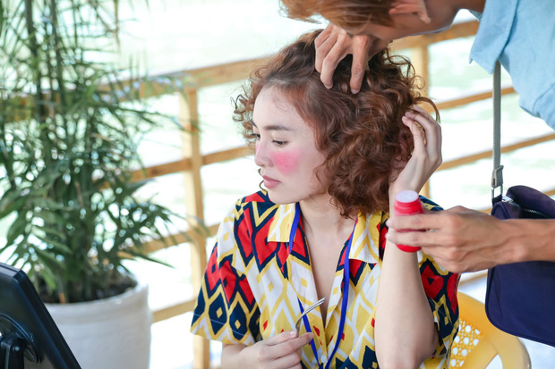 Ninh Dương Lan Ngọc bị xài hao đến mức tóc rụng xơ xác, chú bảo vệ nhầm là bà thím ăn xin vì Mối Tình Đầu Của Tôi - Ảnh 2.