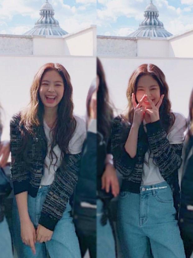 """Diện """"áo đôi"""" với Jennie theo 1 cách khác mà vẫn đẹp ngang ngửa, Jisoo quả xứng danh """"đỉnh cao Visual"""" - Ảnh 7."""