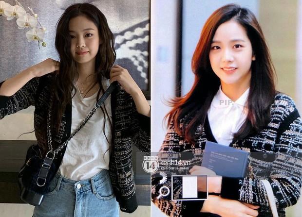 """Diện """"áo đôi"""" với Jennie theo 1 cách khác mà vẫn đẹp ngang ngửa, Jisoo quả xứng danh """"đỉnh cao Visual"""" - Ảnh 9."""