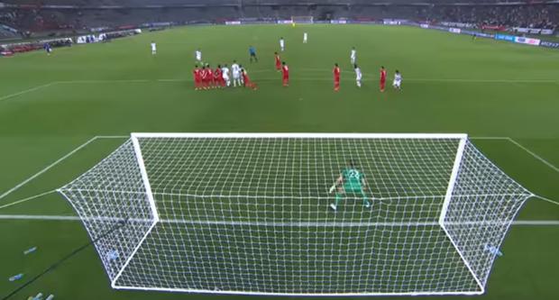 Thủ môn Đặng Văn Lâm có thực sự mắc lỗi trong bàn thua ở phút 90 của đội tuyển Việt Nam? - Ảnh 4.