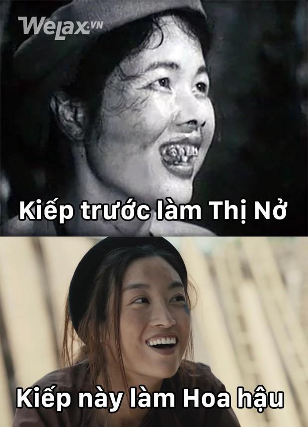 Vào vai Thị Nở trong MV của Đức Phúc, chính Hoa hậu Đỗ Mỹ Linh chắc cũng chẳng ngờ mình có ngay chùm ảnh chế để đời - Ảnh 2.