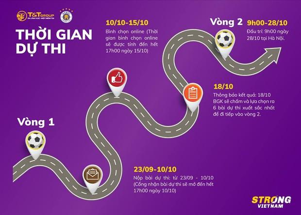 Fan nhí có cơ hội ngồi chung mâm với dàn cầu thủ cực phẩm của Hà Nội FC khi tham gia cuộc thi ý nghĩa này - Ảnh 3.