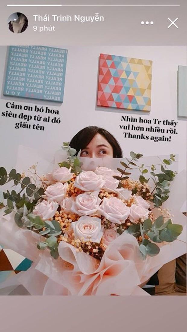 Thái Trinh lấy lại tinh thần sau ồn ào hậu chia tay Quang Đăng, tiết lộ quà đặc biệt từ người giấu mặt - Ảnh 1.