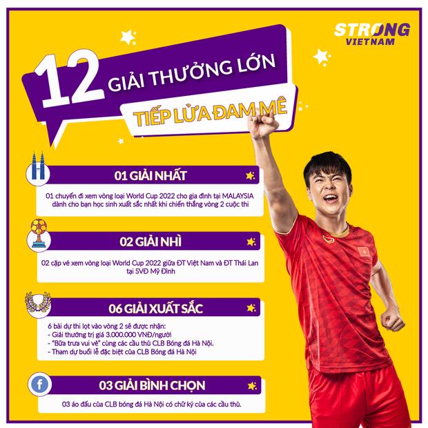 Fan nhí có cơ hội ngồi chung mâm với dàn cầu thủ cực phẩm của Hà Nội FC khi tham gia cuộc thi ý nghĩa này - Ảnh 4.
