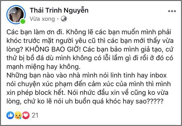 Thái Trinh lấy lại tinh thần sau ồn ào hậu chia tay Quang Đăng, tiết lộ quà đặc biệt từ người giấu mặt - Ảnh 4.