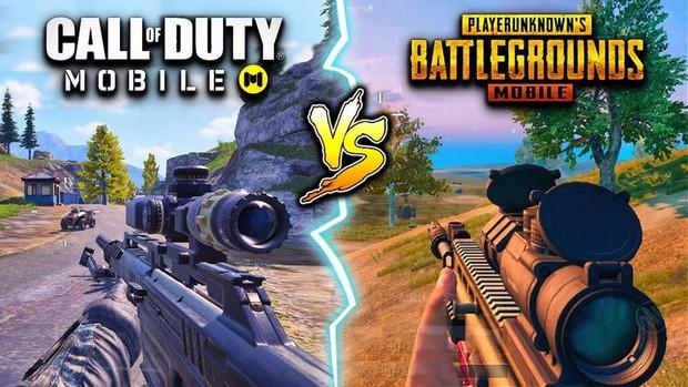 So sánh PUBG Mobile và Call of Duty Mobile, đâu là những sự khác biệt? - Ảnh 1.