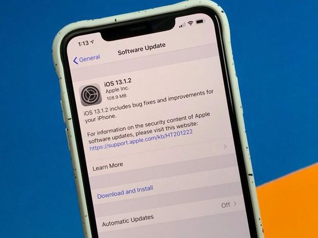 Apple lại tung ra tiếp iOS 13.1.2, update tằng tằng để sửa lỗi khó chịu của bản gốc - Ảnh 1.