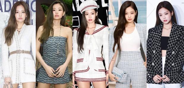 Mặc đồ kém sang nhất nhóm đi dự Paris Fashion Week nhưng bù lại, Jennie vẫn gây sốt vì vòng 1 bốc lửa - Ảnh 3.