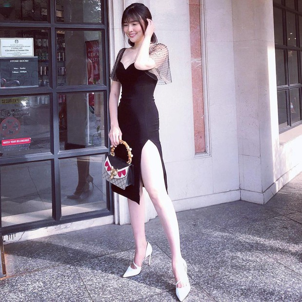 Style ngoài đời của mợ Hai (Tiếng Sét Trong Mưa): Tươi trẻ, sexy có cả nhưng ấn tượng nhất là những màn khoe chân siêu nuột - Ảnh 14.