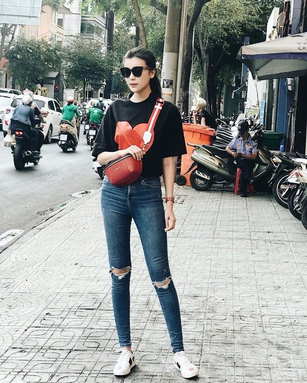 Style ngoài đời của mợ Hai (Tiếng Sét Trong Mưa): Tươi trẻ, sexy có cả nhưng ấn tượng nhất là những màn khoe chân siêu nuột - Ảnh 15.