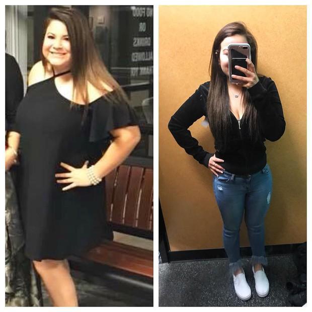 Đổi sang chế độ ăn Keto, cô gái người Mỹ giảm được 38kg với thân hình khiến ai cũng ao ước - Ảnh 2.