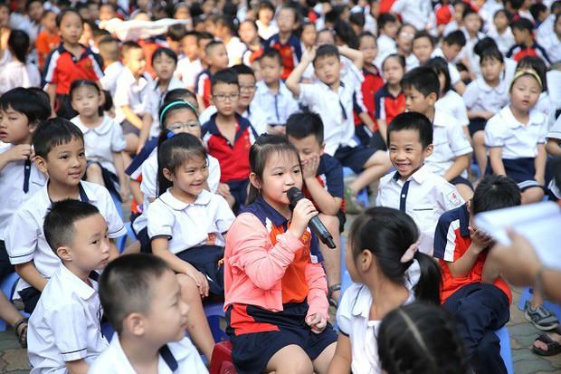 Hơn 9.000 học sinh Hà Nội bắt đầu thói quen phân loại rác tại nguồn - Ảnh 3.