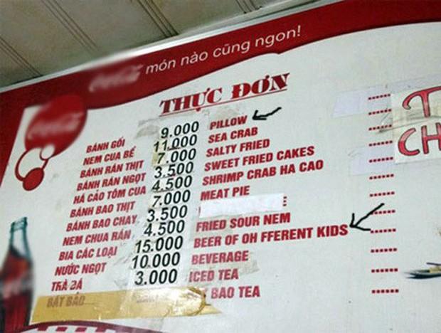 """Những menu đồ ăn theo kiểu """"cái gì không biết thì tra Google"""" khiến thực khách cười ná thở: chỉ có người Việt mới vui tính thế này! - Ảnh 9."""