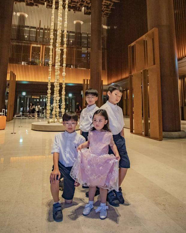Chỉ sau 3 tháng vắng bóng, bộ 3 thiên thần nhí Daehan, Minguk, Manse đã lộ ảnh lên cân bất ngờ - Ảnh 2.
