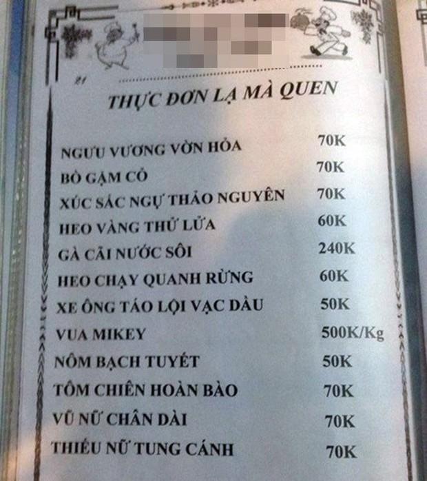 """Những menu đồ ăn theo kiểu """"cái gì không biết thì tra Google"""" khiến thực khách cười ná thở: chỉ có người Việt mới vui tính thế này! - Ảnh 13."""