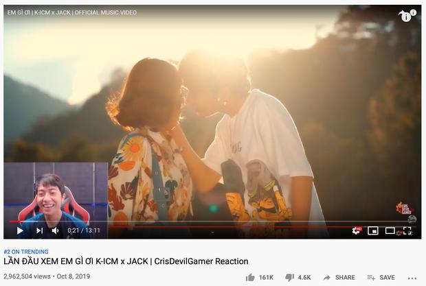 K-ICM cà khịa cực mạnh chuyện MV mới không lọt top Trending, cùng Jack tung ngay demo mới Em ở dơ quá để phục thù? - Ảnh 1.