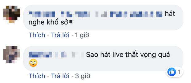 Hương Ly hát live trên sân khấu: bị cư dân mạng chê cả một vòng trái đất với clip cover triệu view? - Ảnh 7.