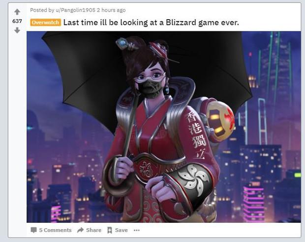 Trừng phạt game thủ nói về chính trị, đế chế game Blizzard đối mặt với làn sóng tẩy chay chưa từng có khắp toàn cầu - Ảnh 1.