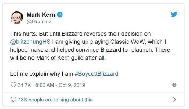 Phốt căng hơn tưởng tượng: Blizzard tiếp tục bị giới chính khách, nhân viên và game thủ kêu gọi tẩy chay - Ảnh 1.