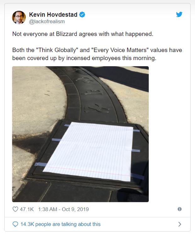 Phốt căng hơn tưởng tượng: Blizzard tiếp tục bị giới chính khách, nhân viên và game thủ kêu gọi tẩy chay - Ảnh 2.