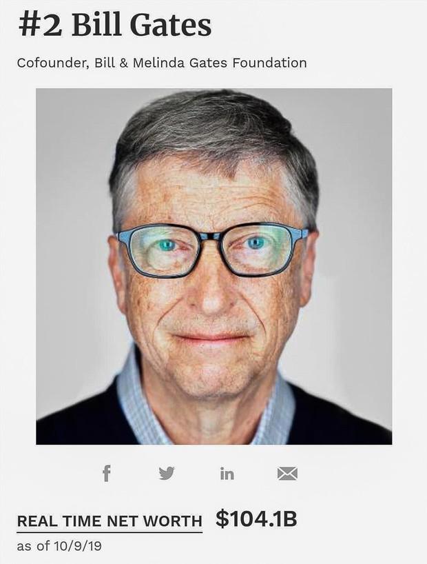 Chia 10 USD cho mỗi người trên Trái đất, Bill Gates vẫn thừa 30 tỉ USD - Ảnh 1.