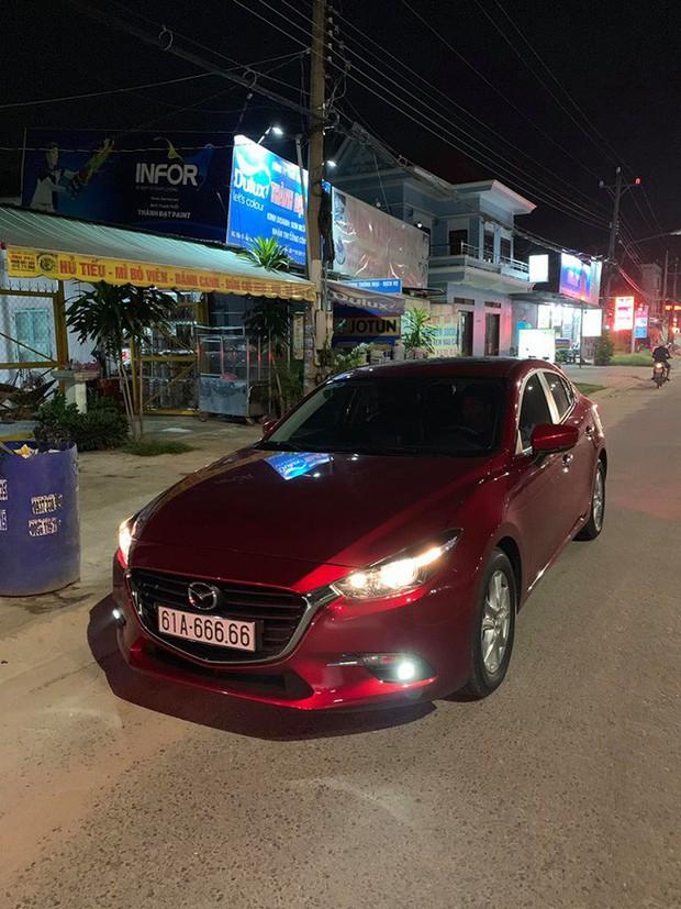 Chủ nhân chiếc Mazda 3 BKS 61A- 666.66 đã bán xe với giá 2 tỉ đồng sau khi chở người yêu mấy vòng - Ảnh 2.