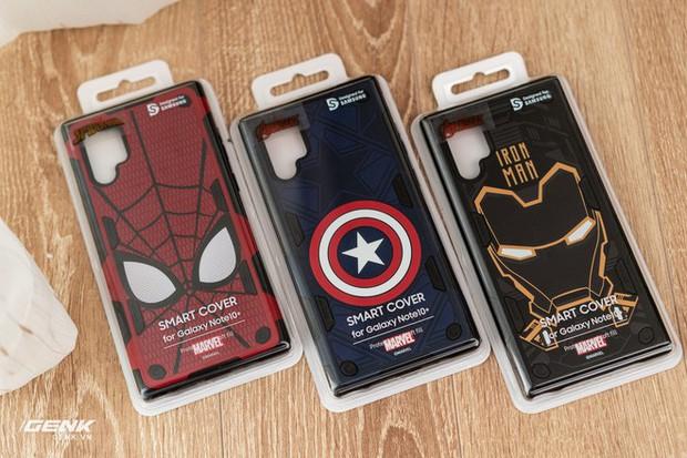 Đánh giá ốp lưng siêu anh hùng Marvel cho Galaxy Note 10+: Thiết kế siêu độc, tặng màn hình khoá xịn không đụng hàng - Ảnh 1.