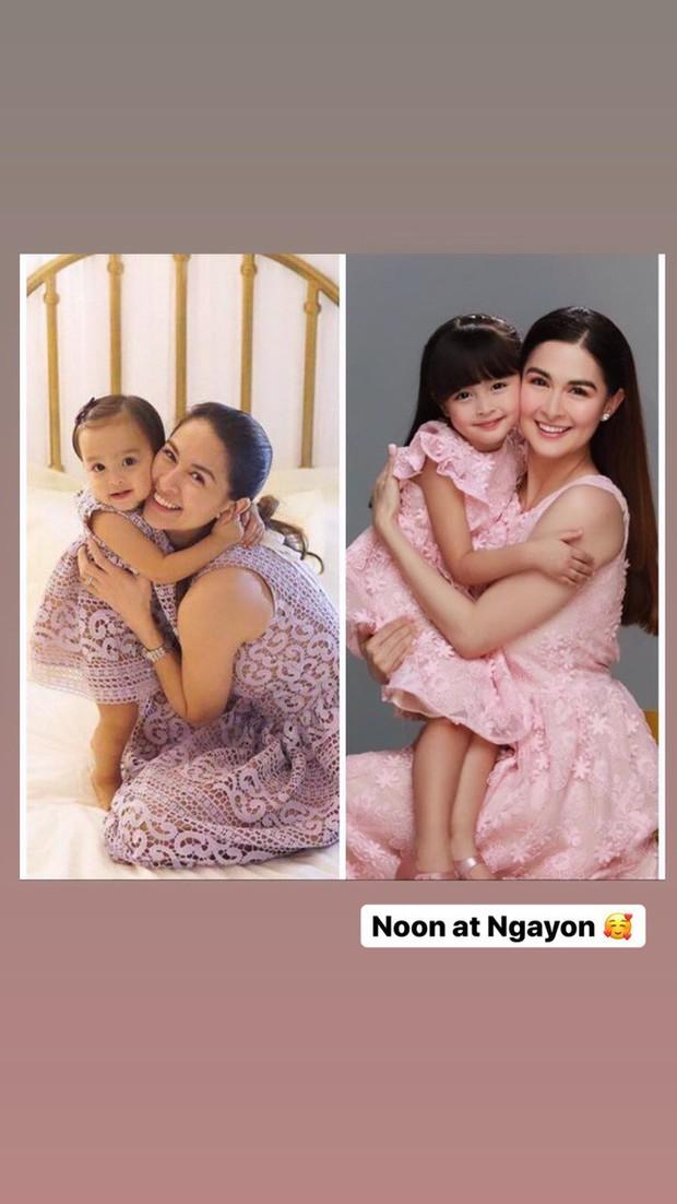 Vẫn biết con gái mỹ nhân đẹp nhất Philippines xinh như thiên thần nhưng không ngờ sự thay đổi từ bé đến lớn lại nhiều thế này - Ảnh 1.