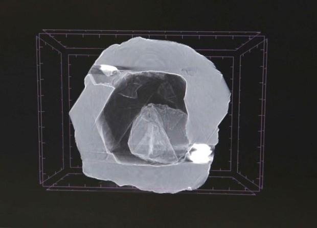 Viên kim cương độc nhất vô nhị trên trái đất, niên đại 800 triệu năm mới được tìm thấy tại Siberia - Ảnh 2.