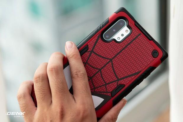 Đánh giá ốp lưng siêu anh hùng Marvel cho Galaxy Note 10+: Thiết kế siêu độc, tặng màn hình khoá xịn không đụng hàng - Ảnh 12.