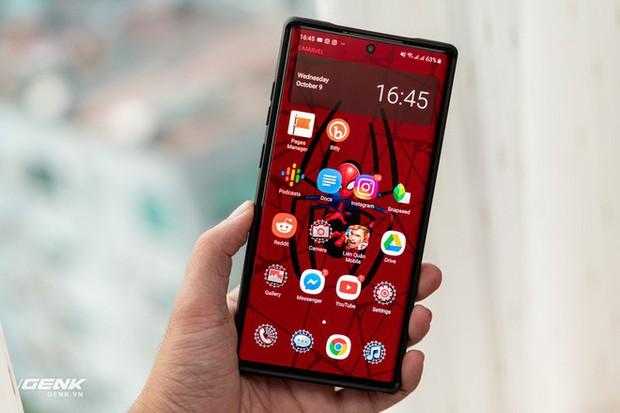 Đánh giá ốp lưng siêu anh hùng Marvel cho Galaxy Note 10+: Thiết kế siêu độc, tặng màn hình khoá xịn không đụng hàng - Ảnh 14.