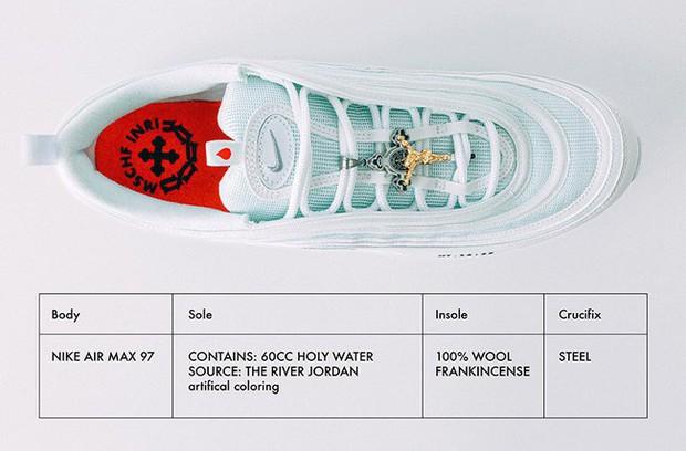 Nike tung mẫu giày được quảng cáo có chứa Nước Thánh với giá 70 triệu/đôi và bán hết veo chỉ trong vài phút - Ảnh 3.