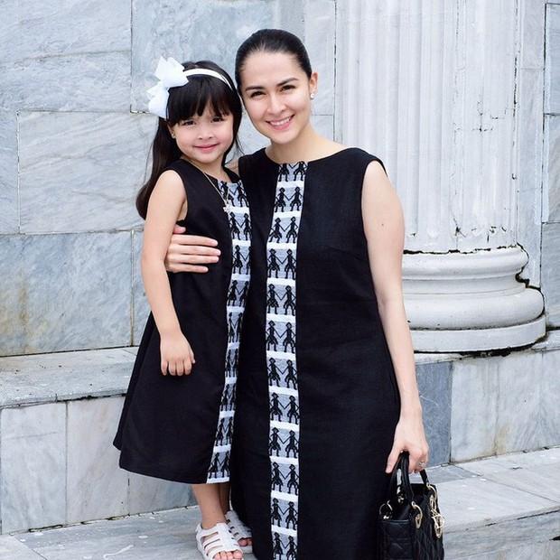 Vẫn biết con gái mỹ nhân đẹp nhất Philippines xinh như thiên thần nhưng không ngờ sự thay đổi từ bé đến lớn lại nhiều thế này - Ảnh 3.