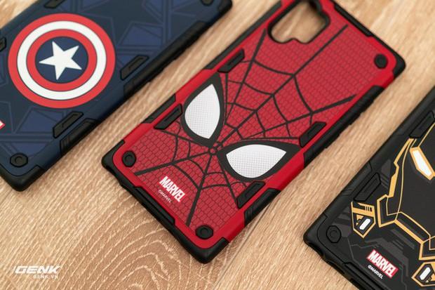 Đánh giá ốp lưng siêu anh hùng Marvel cho Galaxy Note 10+: Thiết kế siêu độc, tặng màn hình khoá xịn không đụng hàng - Ảnh 4.