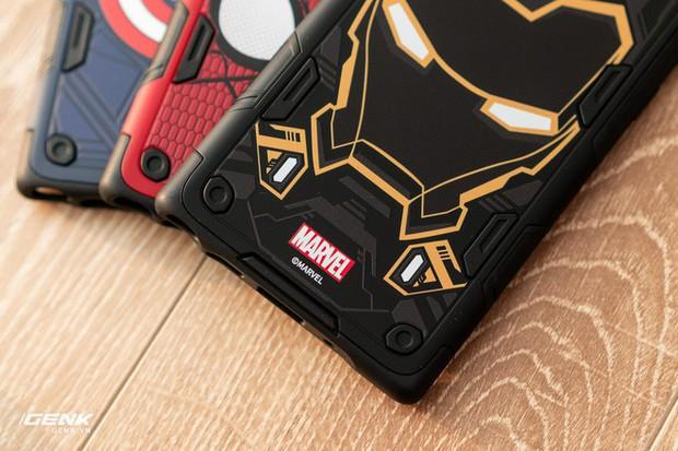 Đánh giá ốp lưng siêu anh hùng Marvel cho Galaxy Note 10+: Thiết kế siêu độc, tặng màn hình khoá xịn không đụng hàng - Ảnh 5.