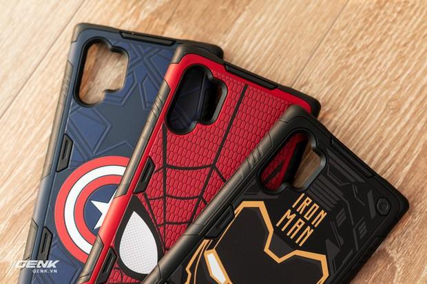 Đánh giá ốp lưng siêu anh hùng Marvel cho Galaxy Note 10+: Thiết kế siêu độc, tặng màn hình khoá xịn không đụng hàng - Ảnh 6.