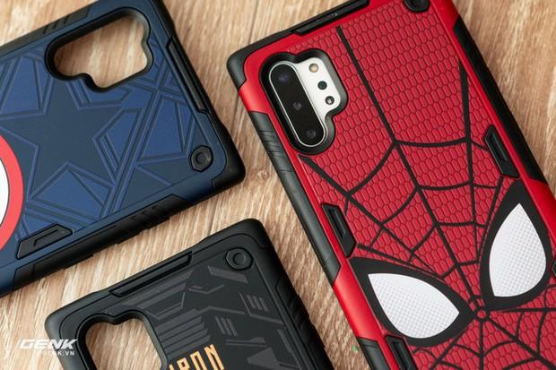 Đánh giá ốp lưng siêu anh hùng Marvel cho Galaxy Note 10+: Thiết kế siêu độc, tặng màn hình khoá xịn không đụng hàng - Ảnh 9.