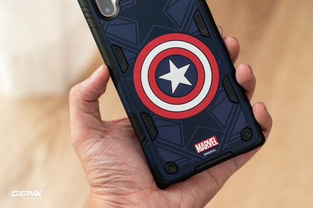 Đánh giá ốp lưng siêu anh hùng Marvel cho Galaxy Note 10+: Thiết kế siêu độc, tặng màn hình khoá xịn không đụng hàng - Ảnh 10.