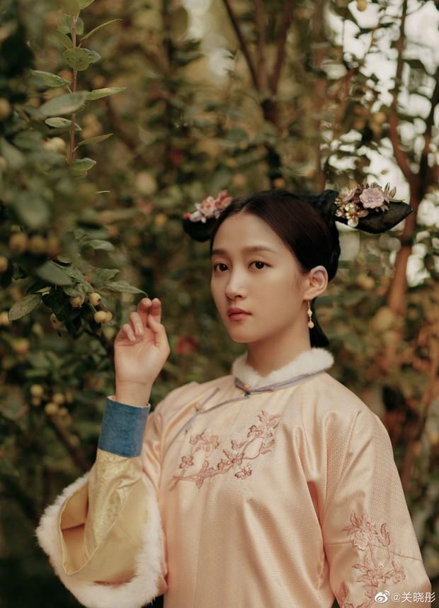 5 tạo hình cổ trang đẹp mướt mắt của Quan Hiểu Đồng đến các nàng nhìn còn phải mê - Ảnh 3.
