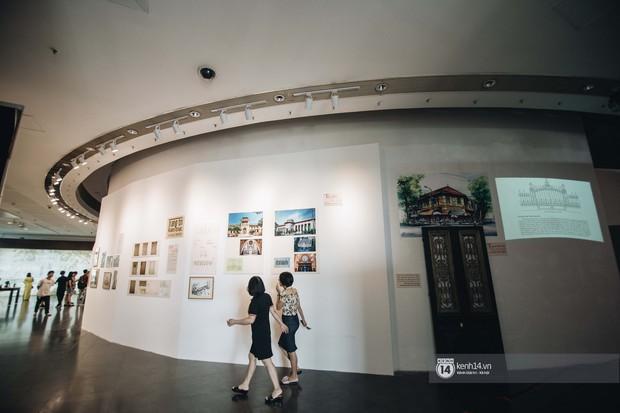 Triển lãm tranh Bùi Xuân Phái với Hà Nội lần đầu tiên được áp dụng công nghệ 3D: Nghệ thuật không chỉ để ngắm mà còn để cảm nhận! - Ảnh 2.
