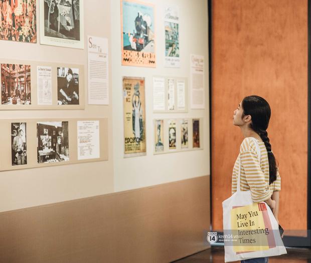Triển lãm tranh Bùi Xuân Phái với Hà Nội lần đầu tiên được áp dụng công nghệ 3D: Nghệ thuật không chỉ để ngắm mà còn để cảm nhận! - Ảnh 7.