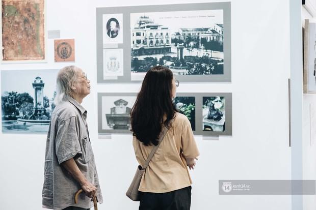 Triển lãm tranh Bùi Xuân Phái với Hà Nội lần đầu tiên được áp dụng công nghệ 3D: Nghệ thuật không chỉ để ngắm mà còn để cảm nhận! - Ảnh 4.