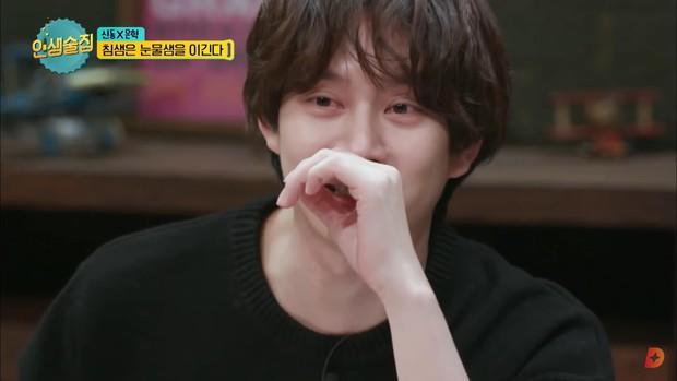 Heechul bật khóc khi chia sẻ về ý định rời khỏi Super Junior do chấn thương - Ảnh 2.