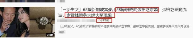 Ngã ngửa sự thật về tin đồn Trương Bá Chi được đại gia cầu hôn với nhẫn 1.700 tỷ, Tạ Đình Phong nổi điên phá đám - Ảnh 2.