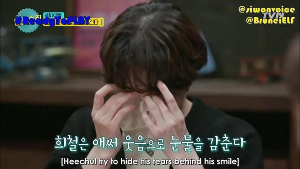 Heechul bật khóc khi chia sẻ về ý định rời khỏi Super Junior do chấn thương - Ảnh 3.