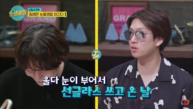 Heechul bật khóc khi chia sẻ về ý định rời khỏi Super Junior do chấn thương - Ảnh 4.
