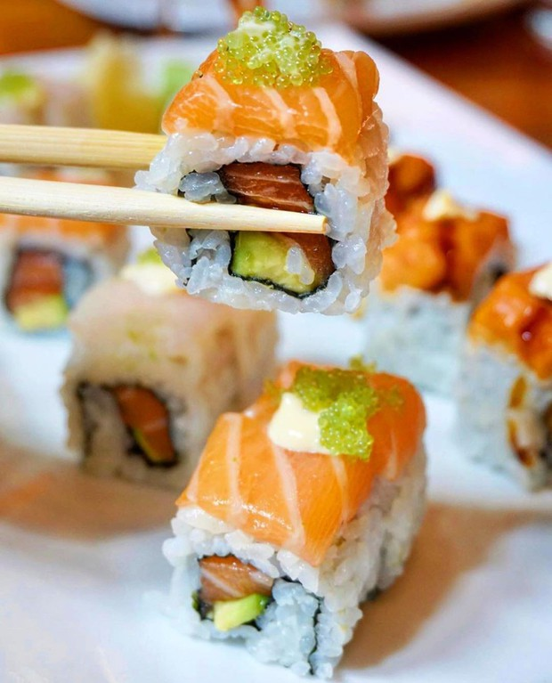Đố bạn biết sushi và kimbap có gì khác nhau: Ngoài xuất xứ từ 2 quốc gia, điểm đặc trưng này mới là quyết định! - Ảnh 6.