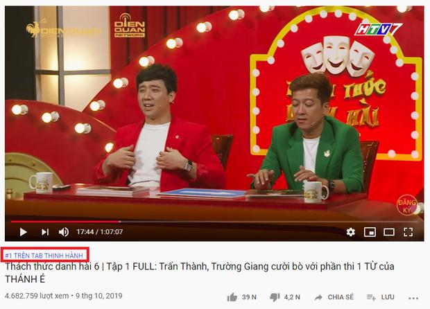 Tập 1 Thách thức danh hài bất ngờ chiếm ngôi vương của clip reaction Em gì ơi trên top Trending - Ảnh 2.
